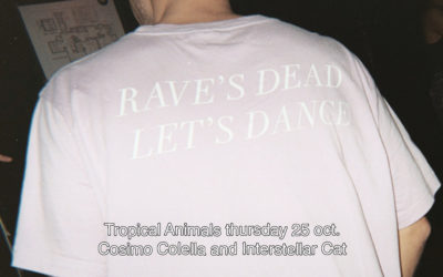 25th October 2018 : Tropical Animals with Cosimo Colella and Interstellar Cat