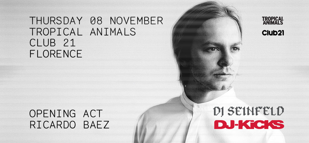 8th Nov 2018 : Tropical Animals with Dj Seinfeld and Ricardo Baez