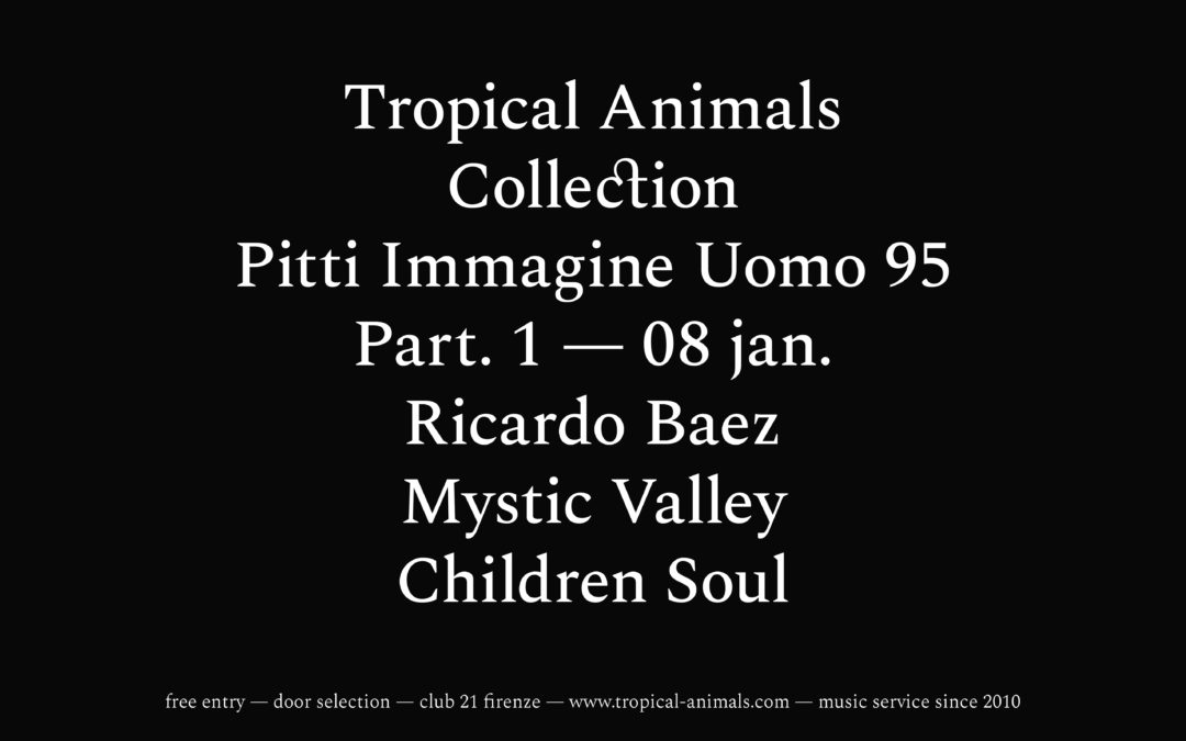 8th Jan 2019 : Tropical Animals Collection x Pitti Immagine Uomo 95