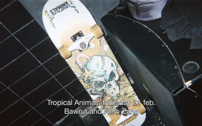 21th Feb 2019 : Tropical Animals with Bawrut and Nero Zang