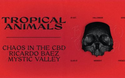 Tropical Halloween Night with Chaos in Cbd, Ricardo Baez, Mystic Valley