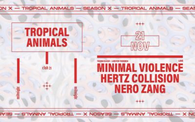 Tropical Animals with Minimal Violence (Live), Hertz Collision, Nero Zang