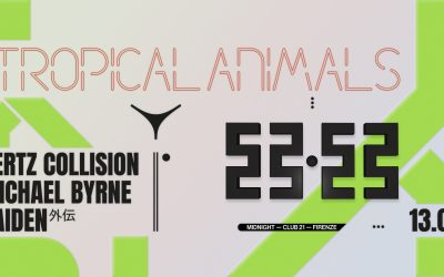 Tropical Animals with Michael Byrne, Hertz Collision and Gaiden